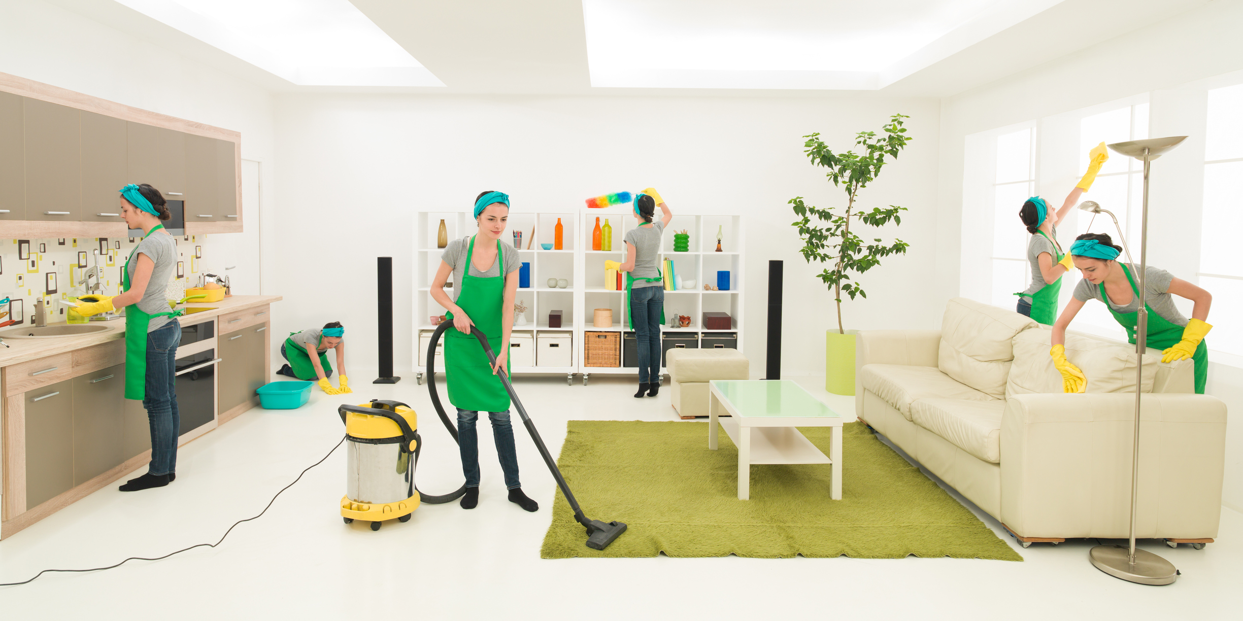 House Cleaning Services Cleaning House